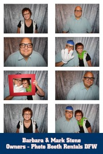Owners of Photo Booth Rentals DFW