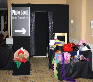 The largest photobooth in Texas in action!
