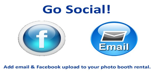Go Social with our Social Media Photo Booth Upgrade