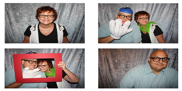 The Owners of Photo Booth Rentals DFW, Barbara & Mark Stone.