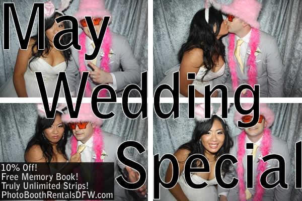 May Wedding Special