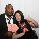 W Hotel Wedding Reception Photo Booth Rental
